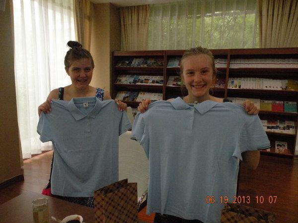 我们的树人校服-扬州树人学校图片