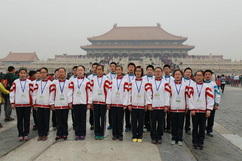 身穿亮丽的校服,朝气蓬勃!-扬州树人学校图片