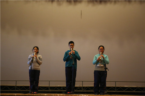 九营陶笛竖笛合奏《天空之城》