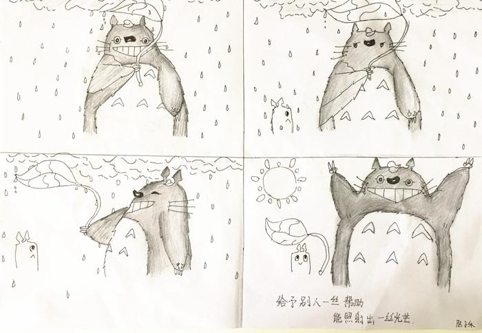 心理手绘背景图