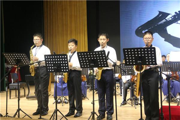 萨克斯四重奏《卡农》-扬州树人学校